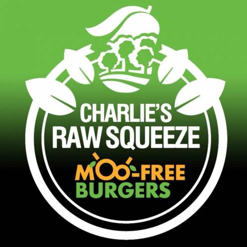 Raw Squeeze & MooFree Burgers North Lakes Logo
