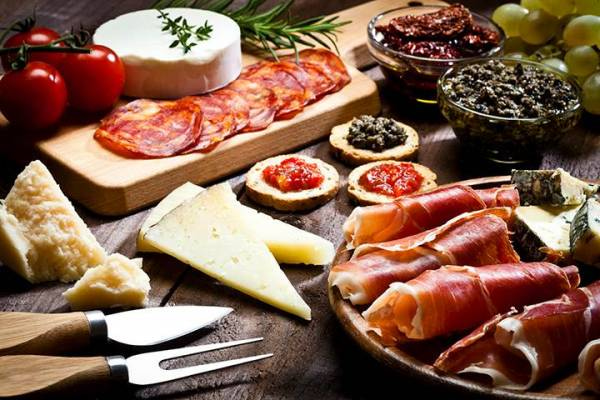 Tapas is a popular European tradition with small plates of food to share and sample, a great social dining opportunity