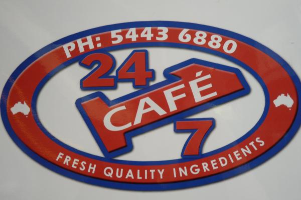 24/7 Pizza Logo