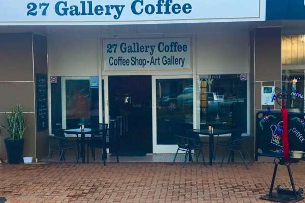 27 Gallery Coffee Logo