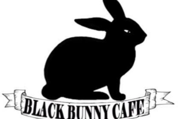 Black Bunny Cafe Logo