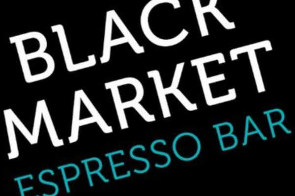 Black Market Espresso Bar Logo