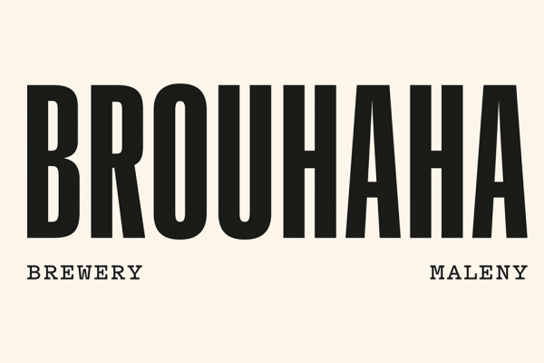 Brouhaha Restaurant (and Brewery) Logo