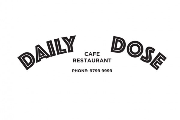 Daily Dose Cafe and Restaurant Logo