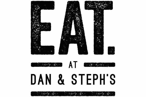 Eat at Dan and Stephs Logo