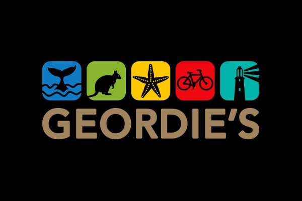 Geordie's Cafe and Art Gallery Logo
