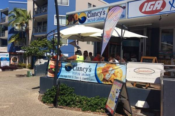 Clancy's Beachside Takeaway Logo