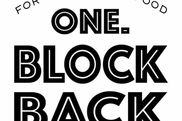 One Block Back Logo