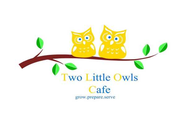 Two Little Owls Cafe Logo