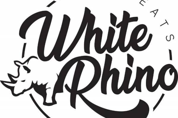White Rhino Bar & Eats Logo