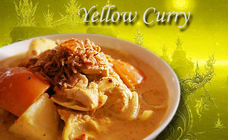 Yellow Curry at Thai Aroy