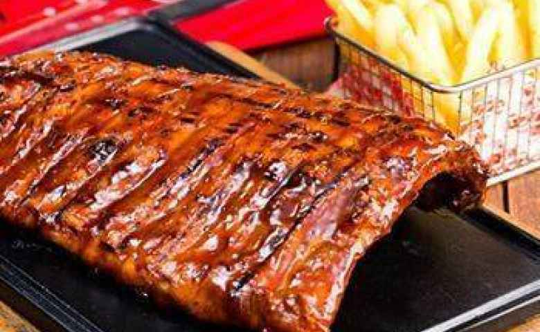 The best ribs at Ribs and Rumps Fortitude Valley