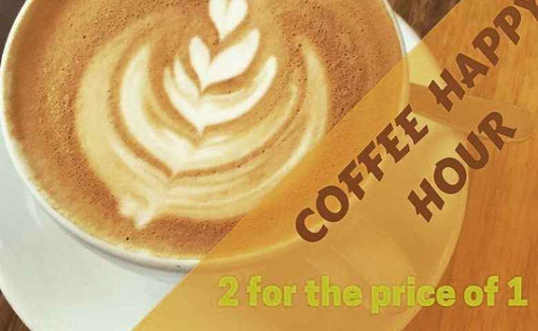 2 for 1 Coffee Offer at the Royal Goondi