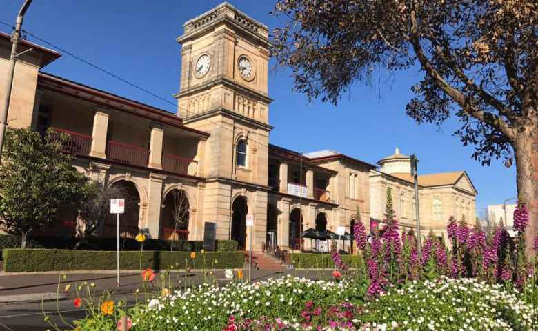 The Classic old Post Office Building Toowoomba
