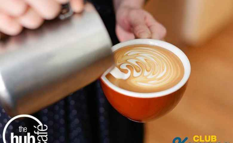 Coffee at the Hub Cafe - Club Kawana