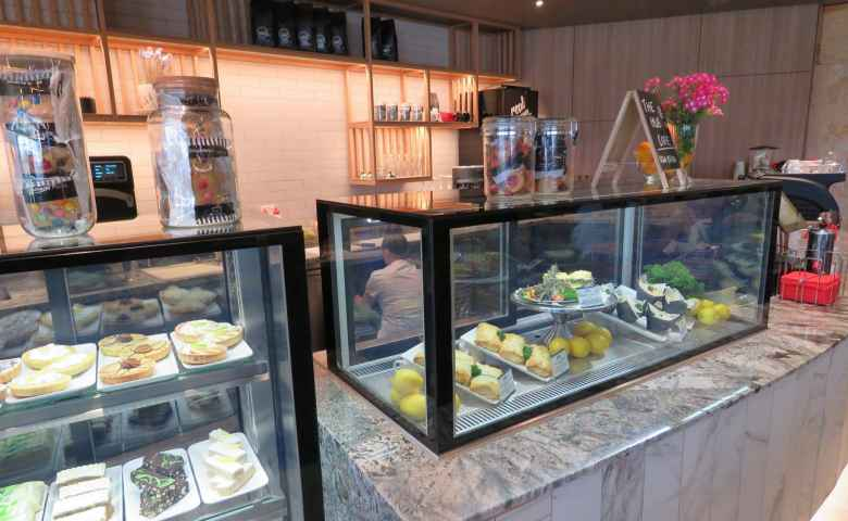 Fresh selections at the Hub Cafe, Club Kawana
