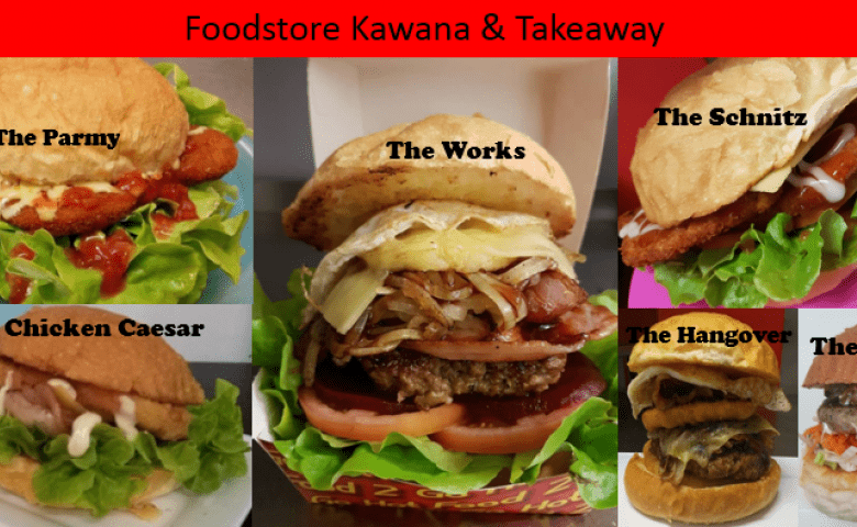 The Works is a popular burger at Foodstore