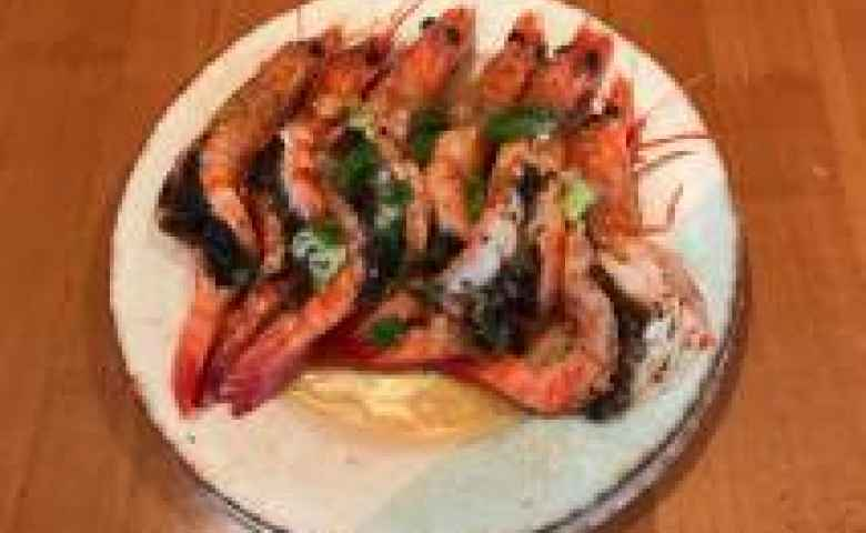 Prawns and seafood are also a specialty