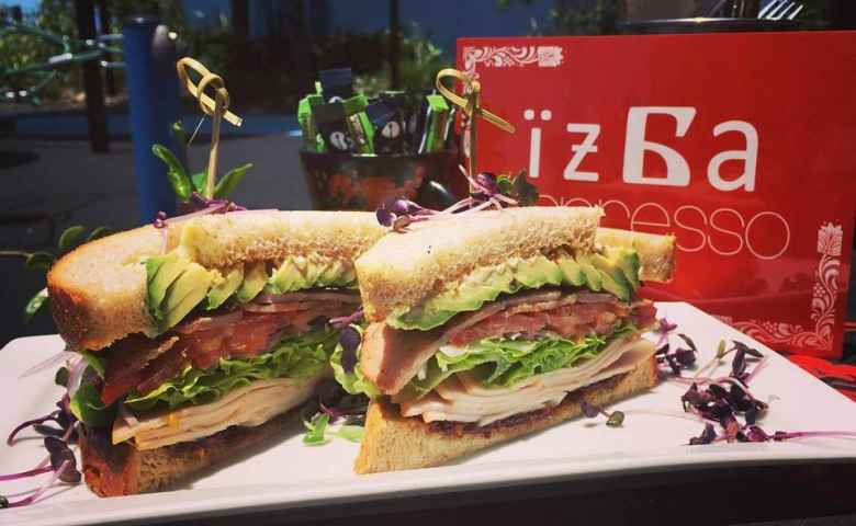 Sandwiches at Izba Espresso