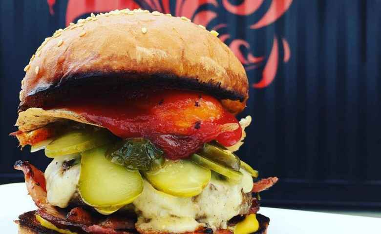 Burgers to die for at Izba