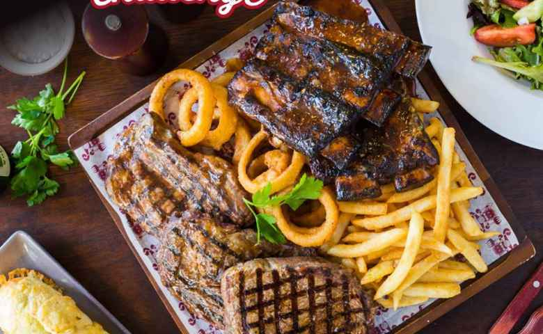 Man vs Meat Challenge at Ribs and Rumps Fortitude Valley