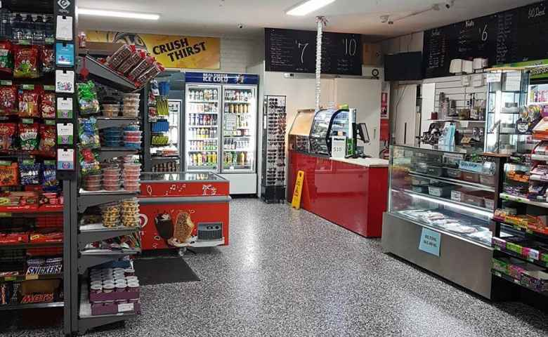 The recently renovated store looks great inside