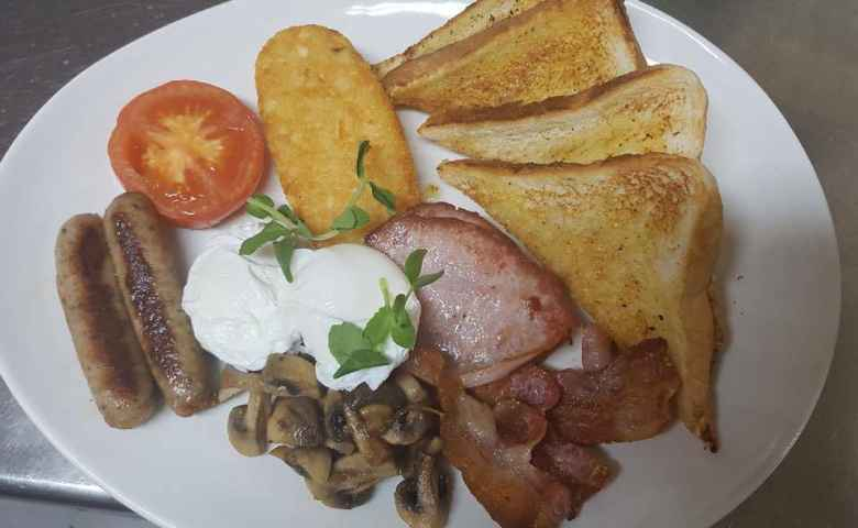 Breakfast is a popular option at Domenico's