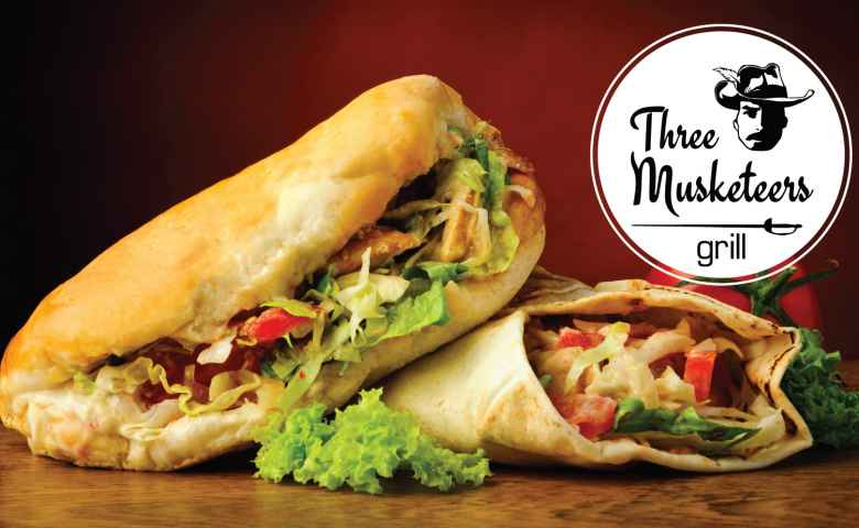 Three Musketeers Grill Mooloolaba - Kebabs and Burgers