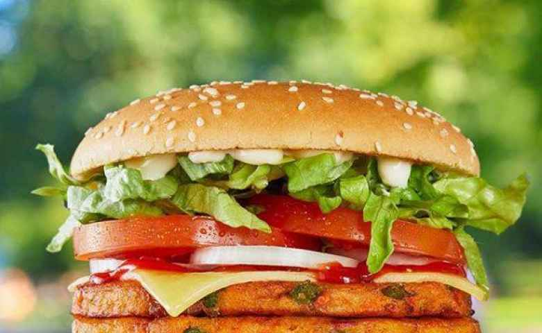 Vegan Burger at Hungry Jacks