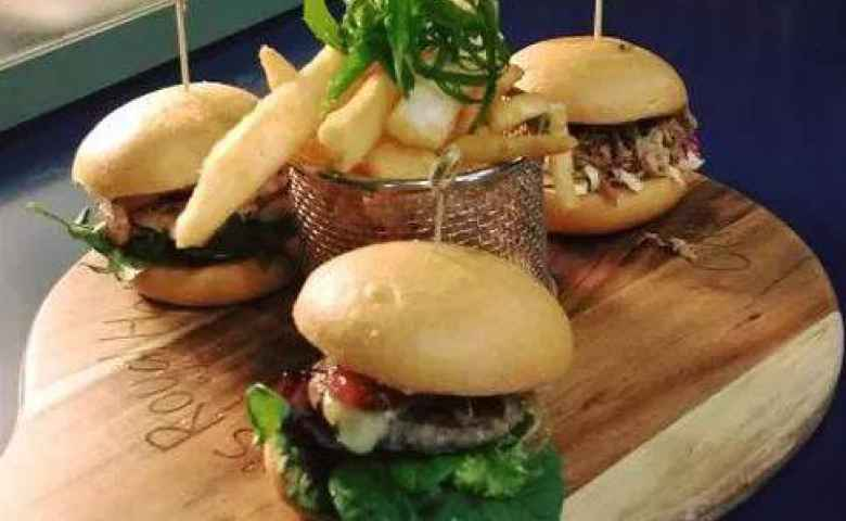 Burgers, sliders, get it all at O'Shea's