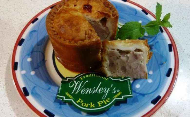 Try our traditional pork pies!