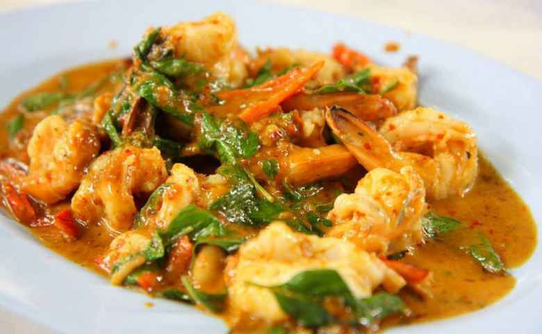 Curried Prawns from Tooks