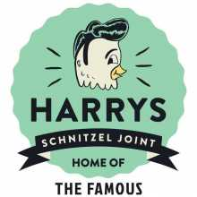Harry's Schnitzel Joint Jesmond Logo