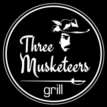 Three Musketeers Grill Mooloolaba - Kebabs and Burgers Logo